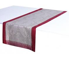 Vent du Sud hierbas camino de mesa algodón, 100% lino, Imperial, 47 x 150 cm
