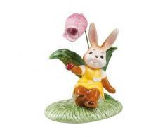 Goebel Ostern Figura de Conejo de Pascua, Porcelana, Multicolor, 12x8x14 cm