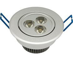 Garza 400736 - Downlight LED empotrable de alta potencia, 3 W