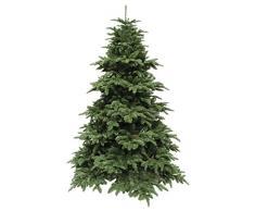 Triumph Tree 389517 - Árbol de Navidad artificial (altura 215 cm, diámetro 155 cm, 2651 ramas), color verde
