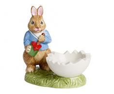 Villeroy & Boch Bunny Tales Huevera Max, Porcelana, Multicolor