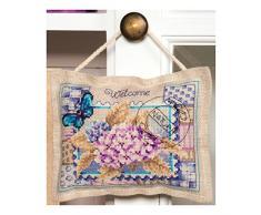Vervaco de Hortensia Deco cojín, Multi-color