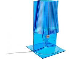 Kartell Take Lámpara de mesa azul