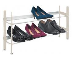 Polder – Mod de 2 niveles estante para zapatos, para galletas