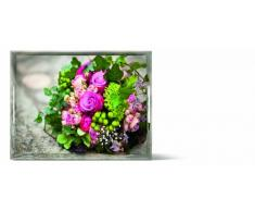 Emsa 513711 - Bandeja, diseño Ramo de Flores, 40 x 31 cm