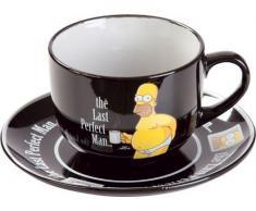 Unitedlabels 0806484 Homer Simpson - Juego de taza y plato [Importado de Alemania]