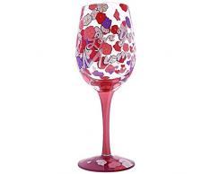 Enesco Lolita A29647 - Copa de vino Te amo mamá