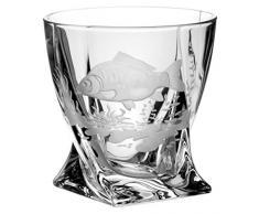 Crystal Julia 3737 Vaso de Whisky Crystalite 6 pcs, 340 ML