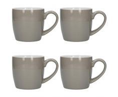 London Pottery 5251665 - Juego de tazas de café y té (cerámica)