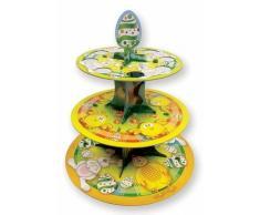 Soporte para tartas de 3 pisos Pascua - Única