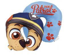 Paw Patrol Cojin Cuello Poly 33x33cm Patrulla Canina, Multicolor, sin sin Datos