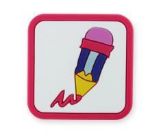 MyGrips gm de 96Pomo Puerta lápiz/nten Muebles Infantiles, Color Rosa