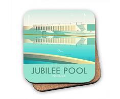 Dave Thompson Jubilee piscina, Cornualles posavasos, multicolor