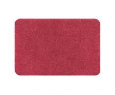 Spirella colección Brizzolo, Alfombrilla de Ducha 55 x 65,100% Acrílico,Rojo