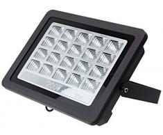 Foco proyector led exterior 200W 6000K negro 220V