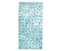 InterDesign Blumz - Tapete para baño - Azul