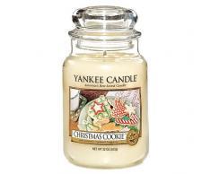Yankee Candle 115504 - Vela en vaso, aroma a Dulces de Navidad