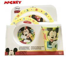 Mickey Mouse 44249 - Juego de vajilla set