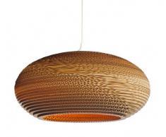 Graypants GP-142 - Lámpara de techo colgante (cartón, 60 W, E27 (rosca Edison), disco incandescente de 91,4 cm)