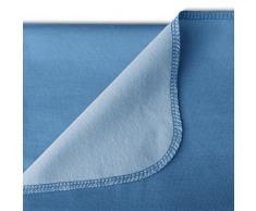 Delis Splash Dry - Toalla multifunción (gimnasio, playa, piscina), color azul bicolor, talla L