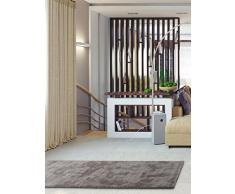 Benuta Alfombra de Pasillo Mink marrón 80x 300cm | Moderna Alfombra para salón y Dormitorio