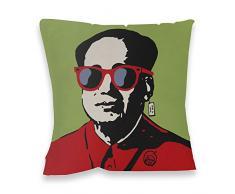 TV Boy gafas de sol de la Mao Impresión cojín, Multicolor