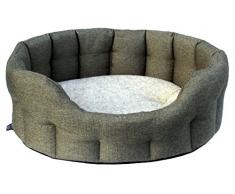 P & L superior mascota camas Premium Softee cama de tejido de cesta ovalada _ variationparent