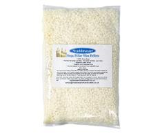 Mouldmaster–Cera de Soja Pilar Vela Pellets 100G, Color Crema/Off White