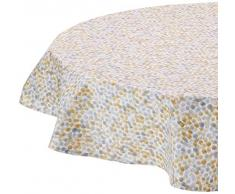 Nydel EU569086413 - Mantel Redondo, 160 cm, Color Gris