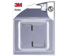 3M Gancho Metálico Colgador de Puerta, Compuesto,, 0.15999999999999998x0.1x0.13 cm