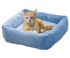 Karlie Cama de Gato Cuadrada Kitty - Pretty (45 x 45 x 12 cm), Color Rosa