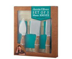 Jamie Oliver 555780 - Cuchillos de queso, madera