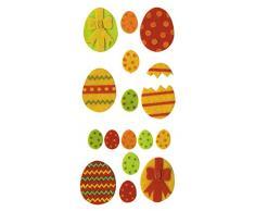 Artemio huevos de Pascua de fieltro para coser, Multi-color