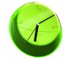 Glamour Bugatti - Reloj de pared, verde