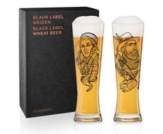 RITZENHOFF Black Label Weizen Copa de cerveza, Vidrio