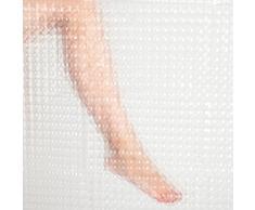Anaterra cortina de ducha 3d transparente con joyero 33210 at, 10002004