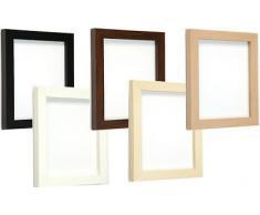 Tailored Frames Marcos a Medida - Marco de Fotos y Cuadros de diseño Cuadrado - Nogal - 50 x 50 cm
