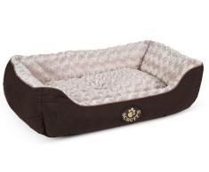 Scruffs Wilton perro cama, grande, 75 x 60 cm, color marrón