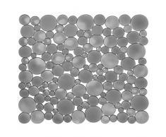 InterDesign - Bubbli - Tapete para fregadero - Tamaño regular - Grafito