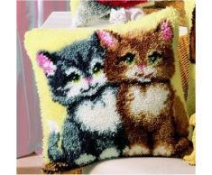 Vervaco kit para cojín de gatitos, Multi-color
