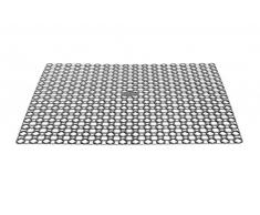 Whitefurze tapete escurridor, de plástico, color negro