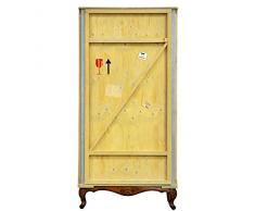 Armario de madera con base Export cómoda cm.100 x 55 h.202,5