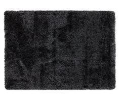ABC Tappeti Alfombra Shaggy Deco Gris 80 x 150 cm