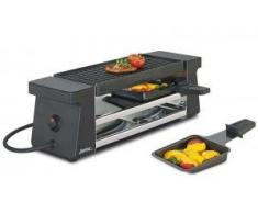 Spring Raclette2 Compact - Raclette, color negro