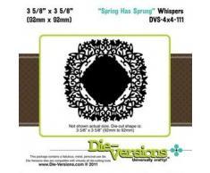 Diseño de la primavera ha Whispers soportes para puertas de armario, Multi-color