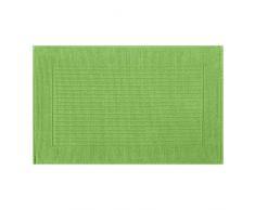 Spirella colección Milu, Alfombrilla de Ducha 50 x 80,100% Algodón,Verde, Lima, 80 x 50 cm