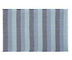 Spirella, Azul colección Cone, Alfombrilla de Ducha 50 x 80,75% Polyester, 25% Acrílico, 80 x 50 cm