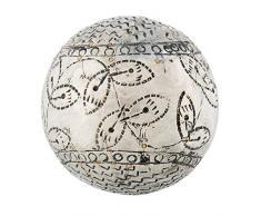 Clayre & Eef 64016 - Bola Decorativa (10 x 10 cm)