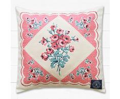 Kirstie Allsopp Josie - Juego de sábanas, color coral, tela, multicolor, cojín color coral