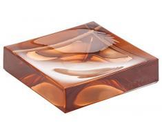 Kartell Boxy Portacepillos, Rosa, 10.5x10.5x3 cm